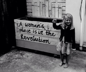 revolution, woman, and feminism image