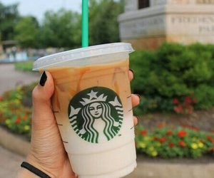 starbucks, drink, and tumblr image