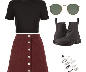 boots, burgundy, and casual image