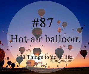 air balloon, Hot, and ride image