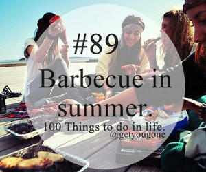 barbecue and summer image