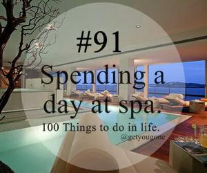 day and at spa image
