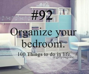 bedroom and organisation image