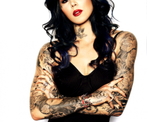 tattoo, kat von d, and woman image