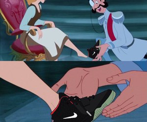 nike, cinderella, and disney image