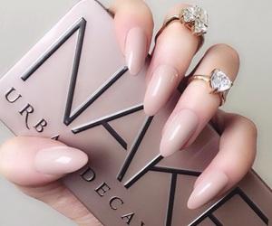 nails, makeup, and naked image