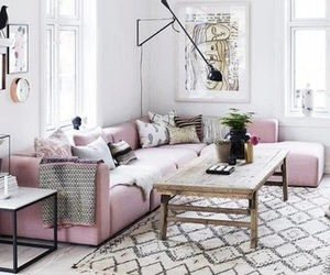 home, pink, and decoration image
