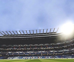 real madrid and santiago bernabeu image
