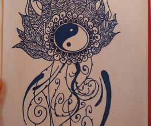 creative, drawn, and peace image