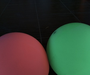 dark, green, and party image