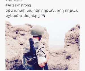 armenia, soldier, and armenians image