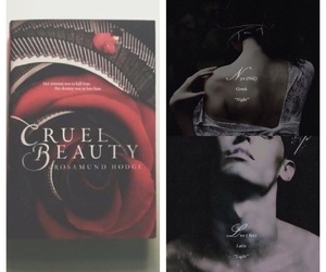 book, books, and cruel beauty image