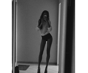 girl, legs, and body image