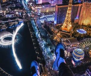 Las Vegas, city, and travel image