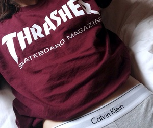 thrasher and Calvin Klein image