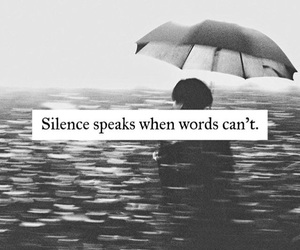 quotes, silence, and life image