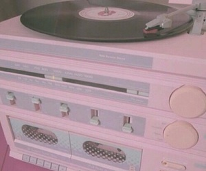 pink, music, and pastel image