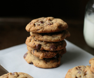 biscuits, chocolate, and Cookies image