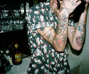 tattoo, grunge, and boy image