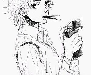 boy, anime boy, and anime image