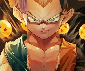 trunks, dragon ball z, and goten image