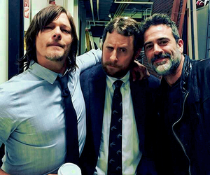jeffrey dean morgan, norman reedus, and the walking dead image