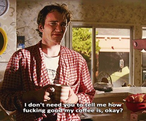 pulp fiction, coffee, and quotes image