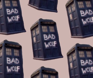 aesthetic, bad wolf, and blue image