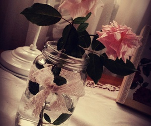 pic, roses, and vintage image