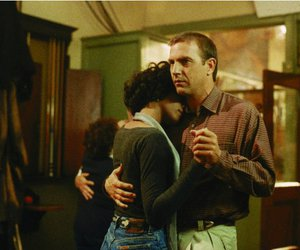 whitney houston, kevin costner, and the bodyguard image