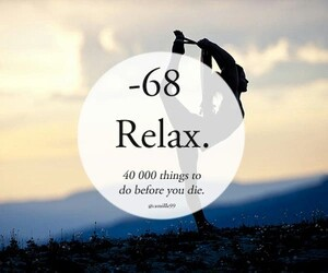 life, relax, and Dream image