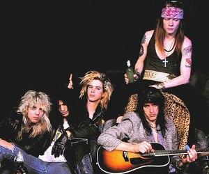 Guns N Roses, rock, and axl rose image