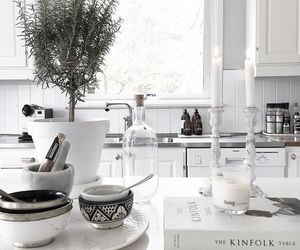 white and kitchen image