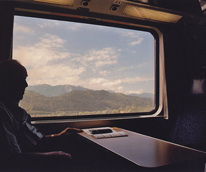 train, photography, and boy image