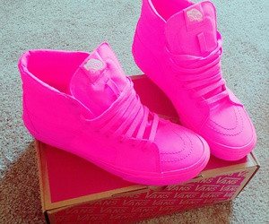 neon, pink, and shoes image