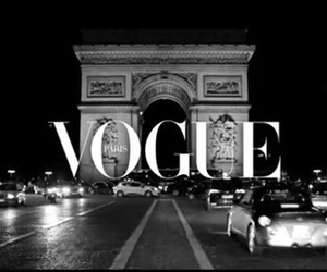 black and white, grey, and vogue image