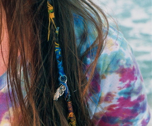 hair, cool, and hair wrap image