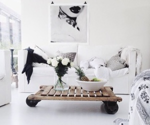 home, ideas, and white image