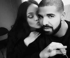 Drake, rihanna, and couple image