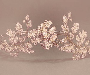 crown, pink, and tiara image