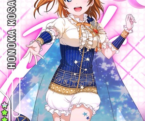 anime, love live, and card image