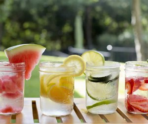 water, fruit, and fresh image
