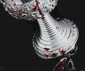 blood, fantasy, and vampire image