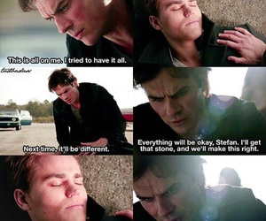 damon, brothers, and stefan image