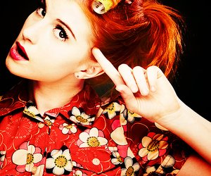 paramore, hayley williams, and red hair image