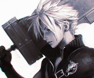 art, cloud strife, and game image