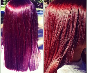 dark red, purple, and sunlight image