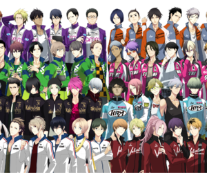 anime, prince of stride, and new anime image