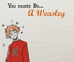 harry potter, ron, and wesley image
