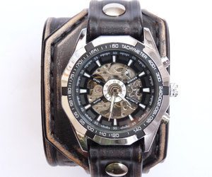 jewellery, steampunk, and black watch image